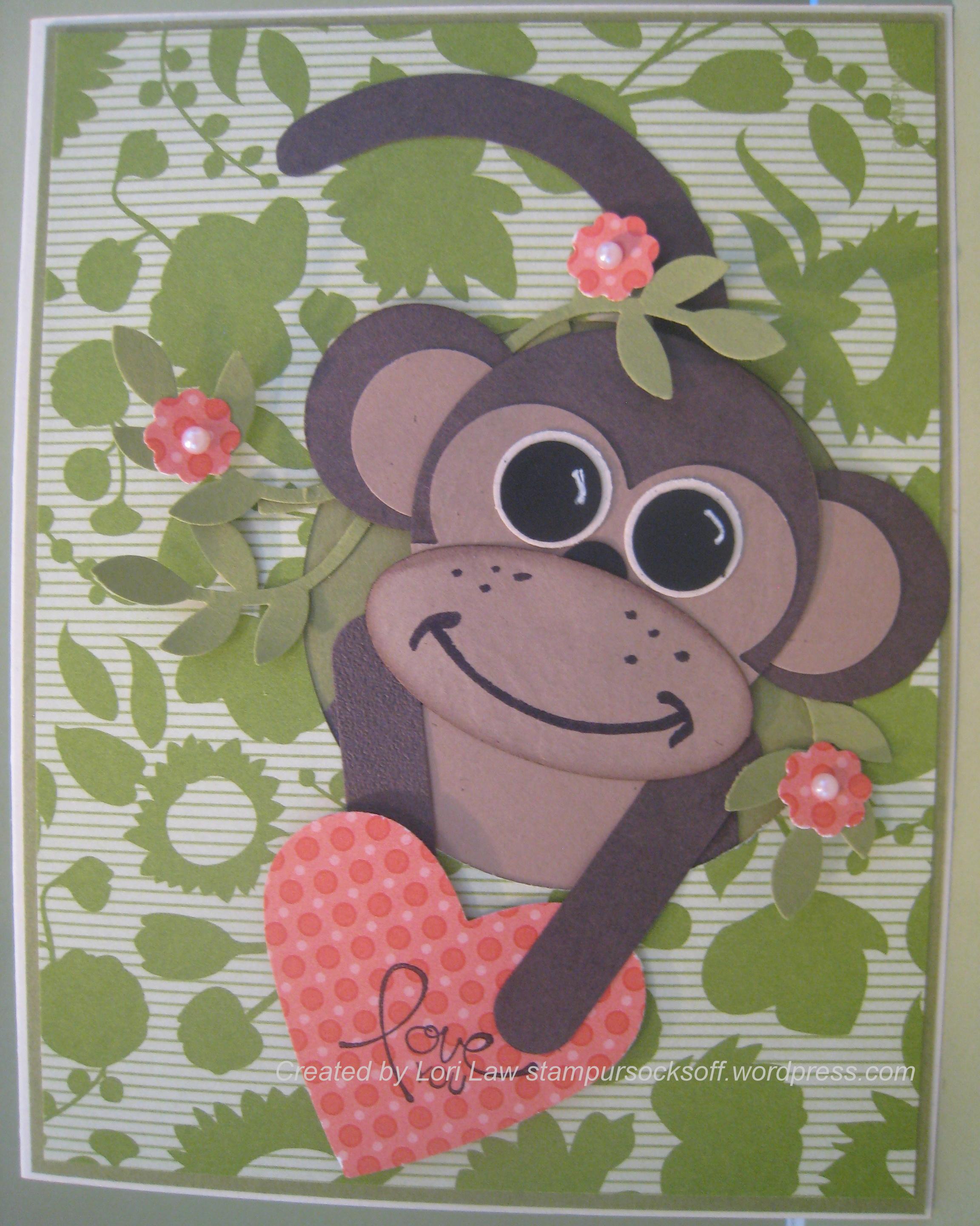 Heart craft punch large - Punch Art Monkey