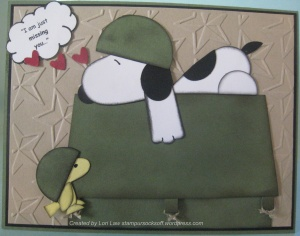 Snoopy Missing You