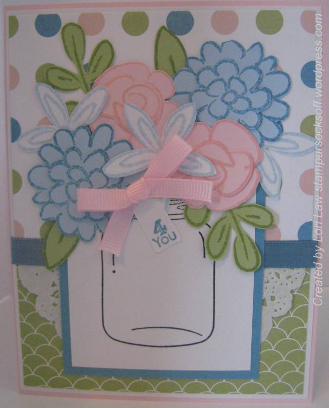 Pink & Blue Flower Fest