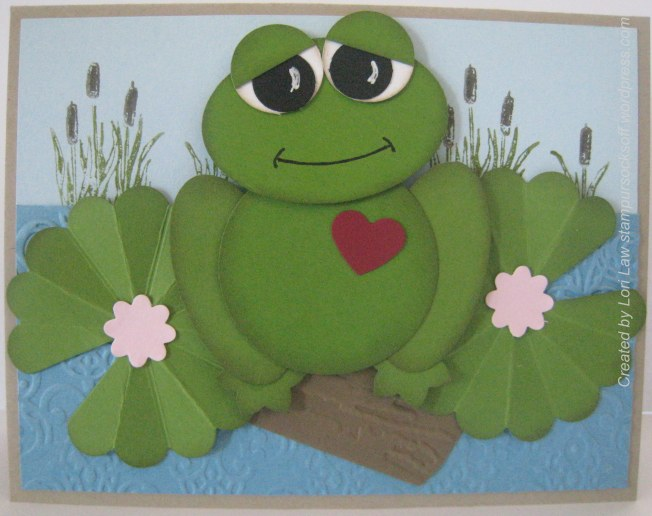 Punch Art Love Frog