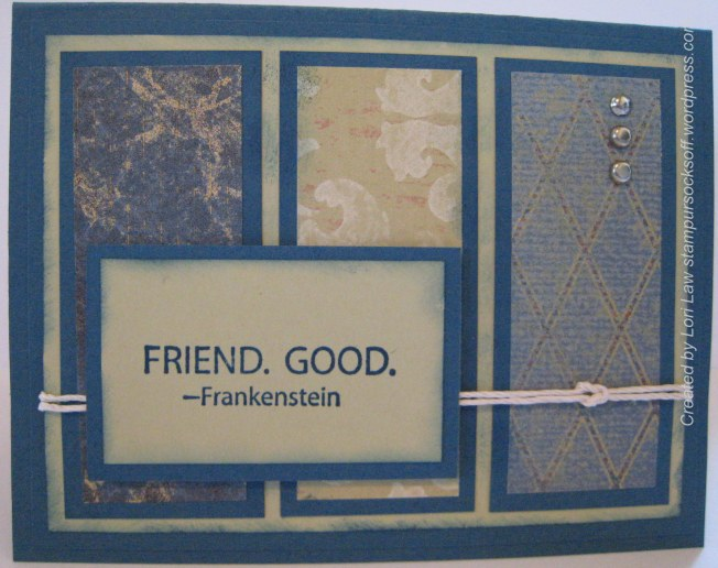 Friend to Friend Card