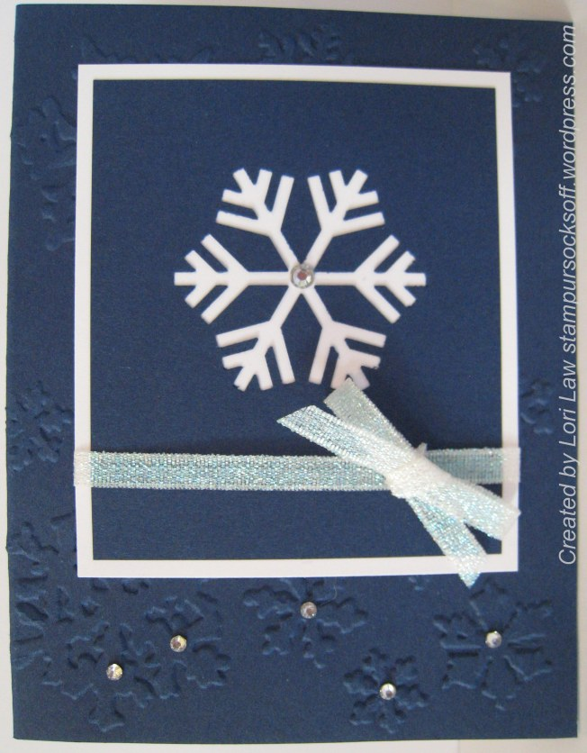 Negative Die Snowflake