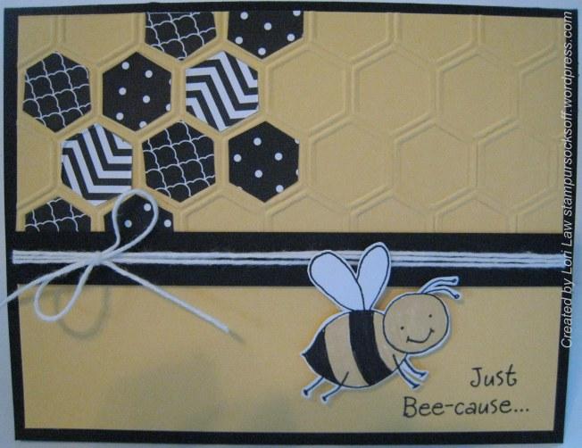 Hexagon Bee-cause